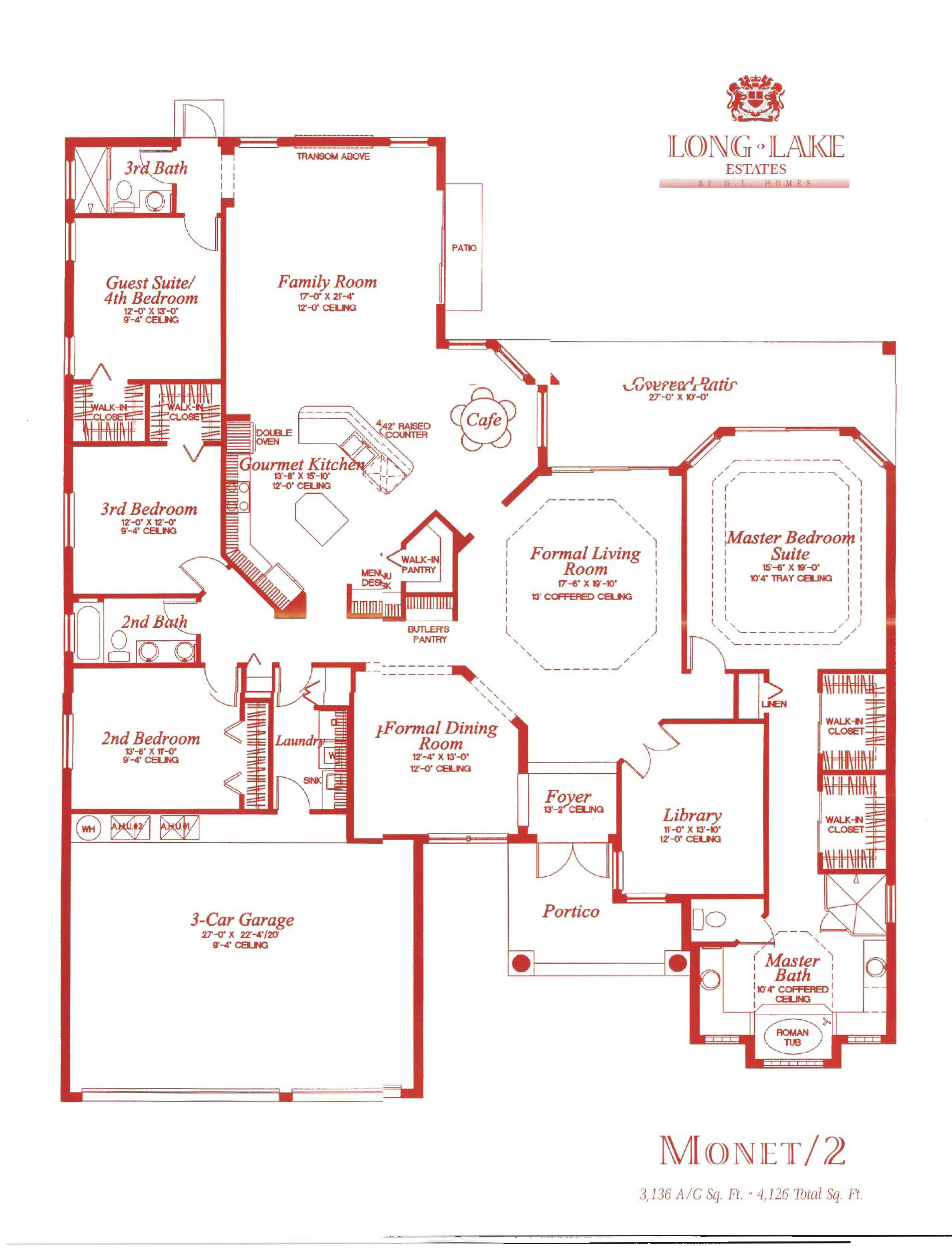 Long Lake Estates Floor Plans And Community Profile