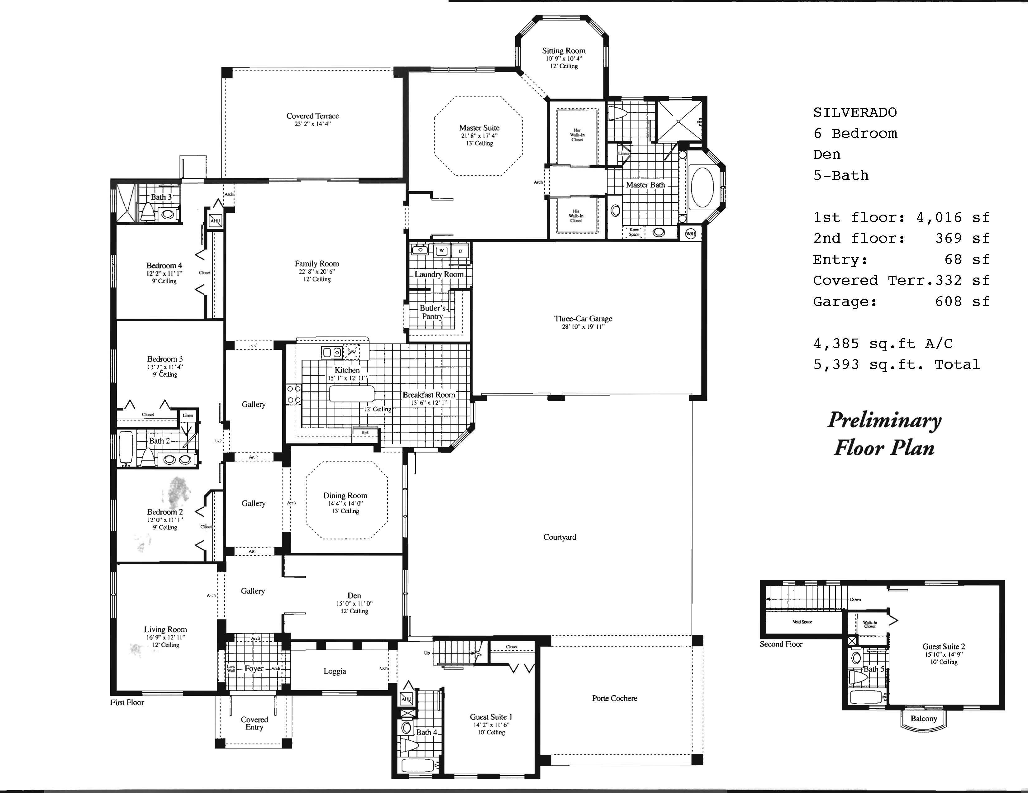 Saddlebrook floor plans and community profile for Floor plans with porte cochere