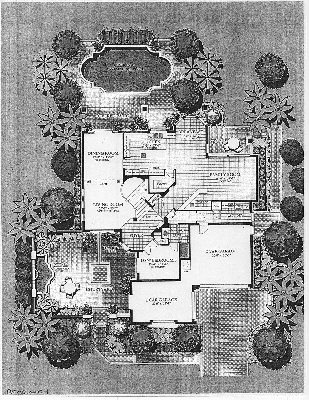 Highland ranch estates floor plans and community for Rembrandt homes floor plans